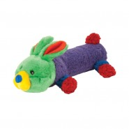 Chomper Spring Noodle Doodles Plush Dog Toy