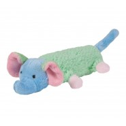 Chomper Puppy Noodle Doodles Plush Dog Toy - Elephant