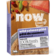 Petcurean Now Fresh Wild Salmon Pate with Bone Broth Cat Food