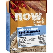 Petcurean Now Fresh Chicken Pate with Bone Broth Grain Free Wet Cat Food