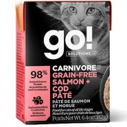 Petcurean Go! Solutions Carnivore Salmon & Cod Pate Cat Food