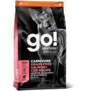 Petcurean Go! Solutions Carnivore Salmon & Cod Grain Free Dry Dog Food