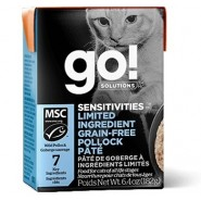 Petcurean Go! Solutions Limited Ingredient Grain Free Pollock Pate Wet Cat Food