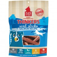 Plato Thinkers Salmon Real Sticks Dog Treat, 6.5 oz