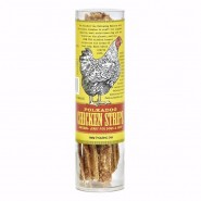 PolkaDog Chicken Strips Jerky Dehydrated Dog & Cat Treats, 4 oz tube