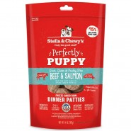 Stella & Chewy's Perfectly Puppy Beef & Salmon Freeze Dried Dinner Patties Dog Food