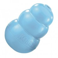 KONG Puppy Rubber Dog Toy BLUE