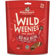 Stella & Chewy's Wild Weenies Red Meat with Beef, Goat & Lamb Freeze-Dried Dog Treats, 3.25 oz