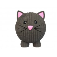 HuggleHounds Ruff-Tex Halloween Black Cat Dog Toy