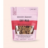 Bocce's Bakery Soft & Chewy Say Moo Beef & Cheddar Dog Treats, 6 oz