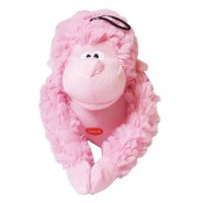 Patchwork Pet Valentine's Pastel Gorilla Dog Toy