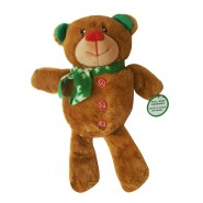 Spot Holiday Squeaker Plush Dog Toy, Bear