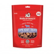 Stella & Chewy's Lamb Heart Freeze-Dried Dog Treats, 3 oz
