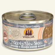 Weruva Stew! Goody Stew Shoes Chicken & Salmon Dinner in Gravy Canned Cat Food