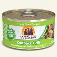 Weruva Outback Grill With Sardine and Seabass in Gravy Canned Cat Food